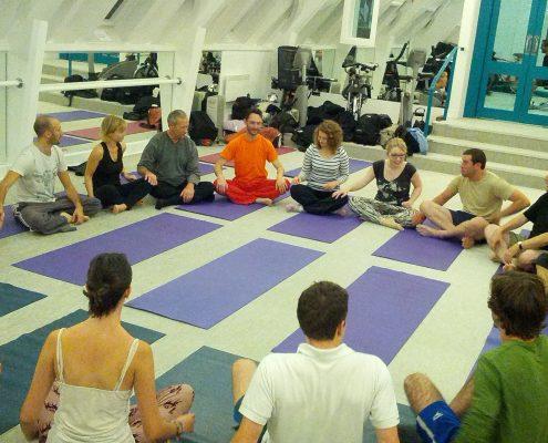 Richard Brook Acupuncturist and Yoga teacher London