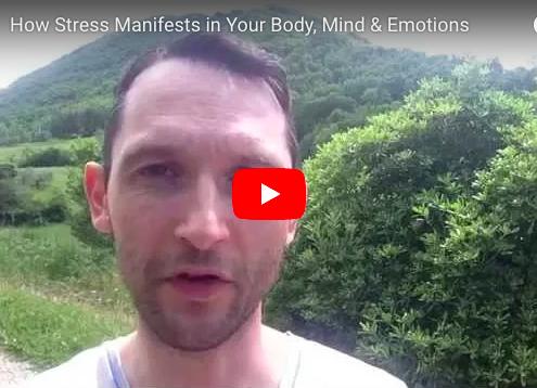 Holistic Expert London Richard Brook talking about Stress
