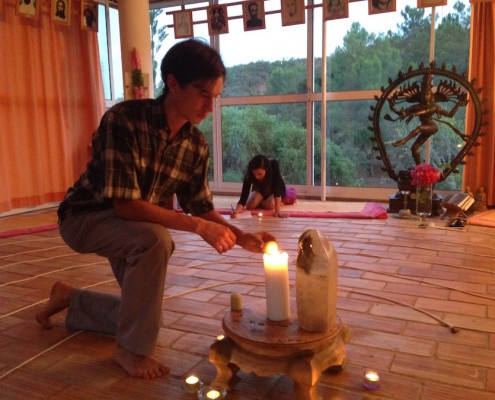 Spiral Walk Meditation Ceremony at Moinhos Velhos Juice Detox with Richard Brook