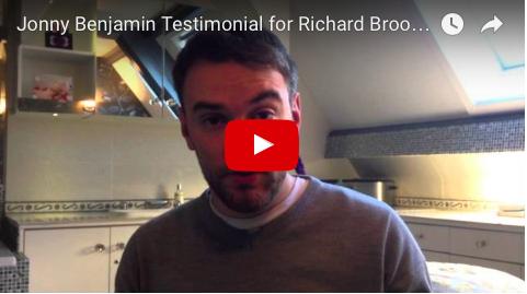 Jonny Benjamin Testimonial for Acupuncture in London with Richard Brook