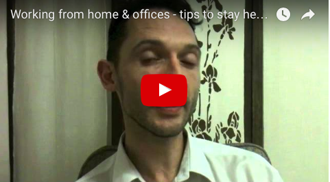 Health tips for working in Home and Office with Holistic Expert Richard Brook