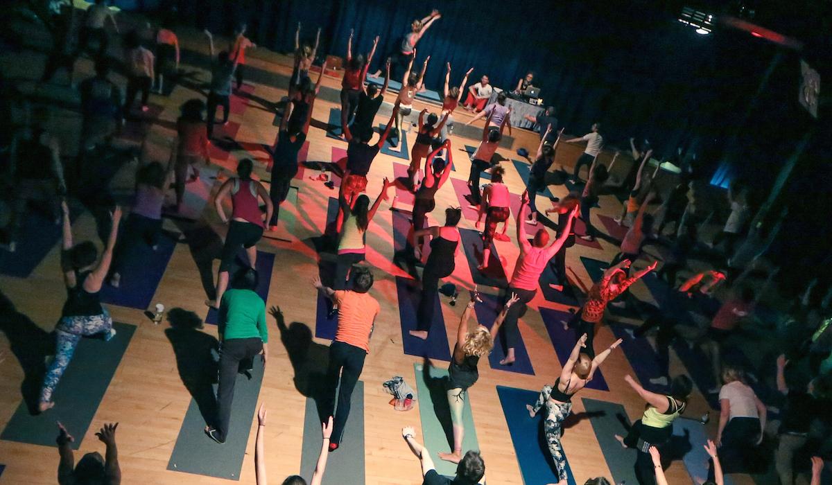 Yoga Rave London with 5Rhythms Dance with Richard Brook of Creative Yoga