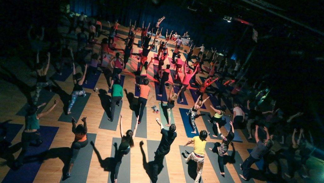 Yoga Rave London with Richard Brook