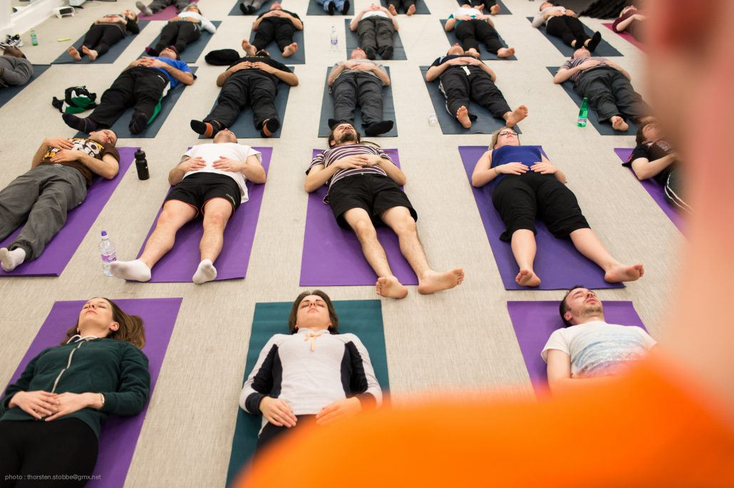 Dru Yoga and Deep Relaxation London with Richard Brook
