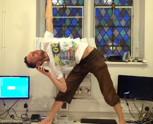 Corporate Yoga with Richard Brook